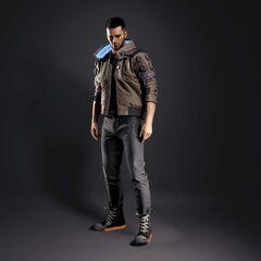 Model V 3D w wersji męskiej