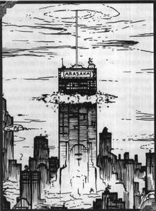 Arasaka Tower Bombed 2022