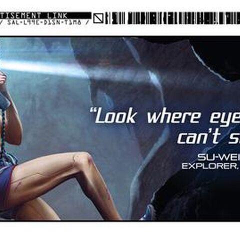 Kiroshi Ad Cyberpunk 2077