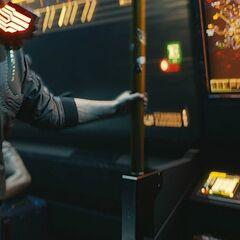 Mapa metra w Night City, kadr z trailera z E3 2018