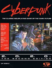 Cyberpunk 2020 Cover Art