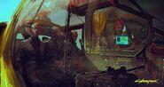 Concept Art Cyberpunk 2077 - Gamescom (3)