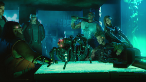 Below Deck - Cyberpunk 2077