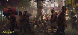 Concept art - Bitly link - Cyberpunk 2077