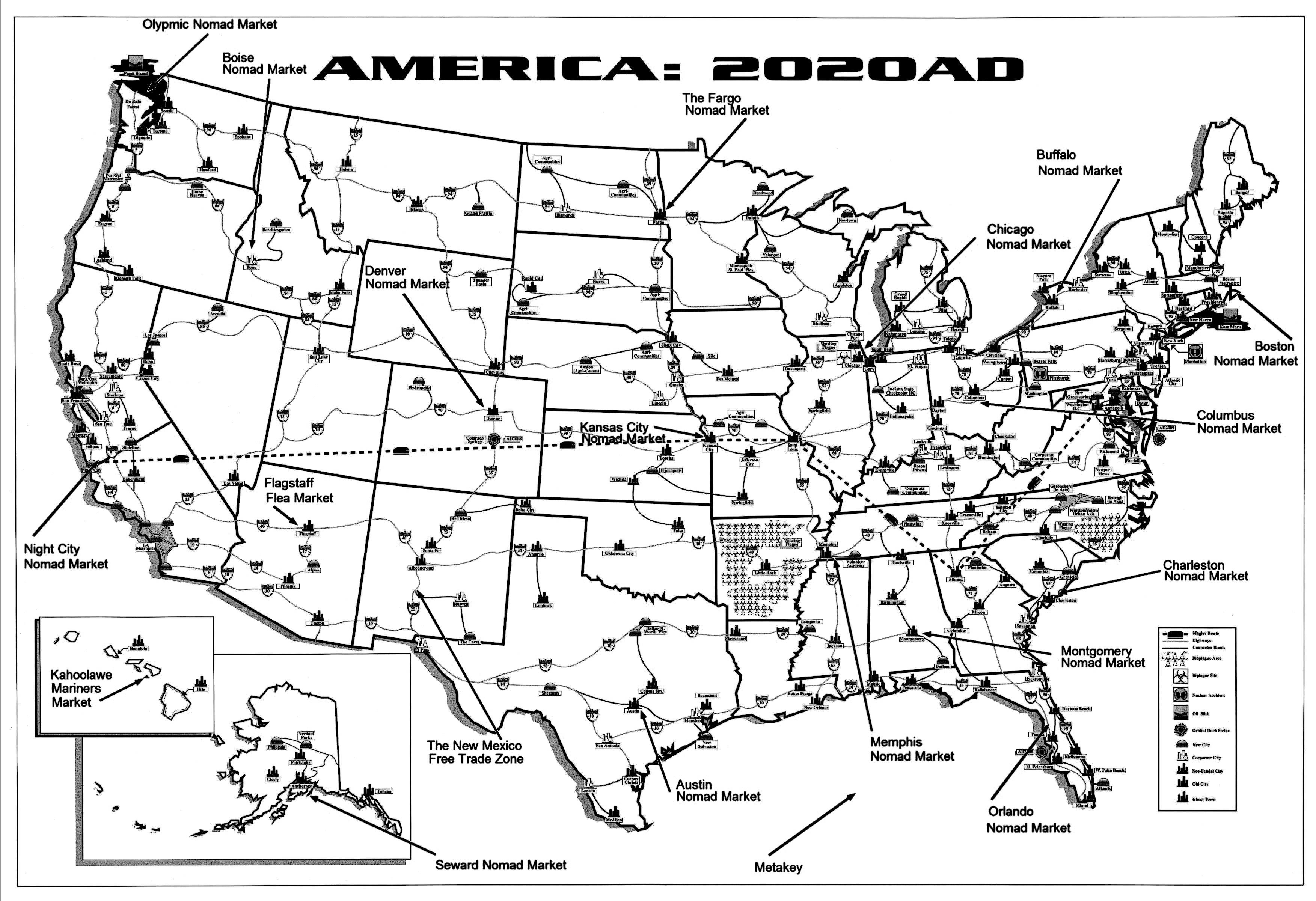 Cyberpunk 2020 World Map | Current Red Tide Florida Map