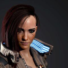 Model V 3D w wersji żeńskiej