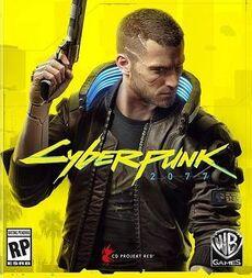 Обложка компьютерной игры Cyberpunk 2077