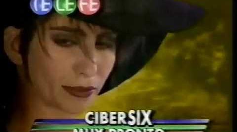 Promoción de Telefé 1996 Cybersix