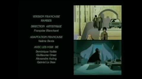 Cybersix Ending Theme Original French Version