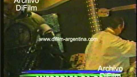 """DiFilm - Promo del unitario """"Cybersix"""" con Carolina Peleritti (first video) (1996)"""