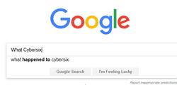 What cybersix...