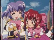 Hibari with suzume