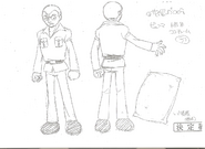 Cyborg 008-Model Sheet4