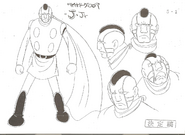 Cyborg 005-Model Sheet