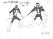 Skull ModelSheet