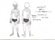 Cyborg 008-Model Sheet5
