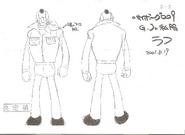 Cyborg 005-Model Sheet2