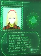 Cyborg 003 UNG profile