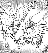 Apollo chariot