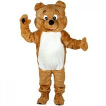Benny the Bear - CCCUK Mascot Costume