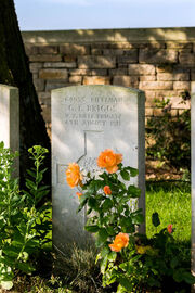 Grafsteen George Briggs 1