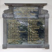 Lincoln University Roll of Honour