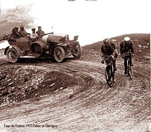 TdF 1913 Faber Garrigou
