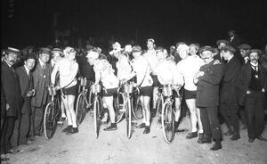 Start TourdeFrance 1914