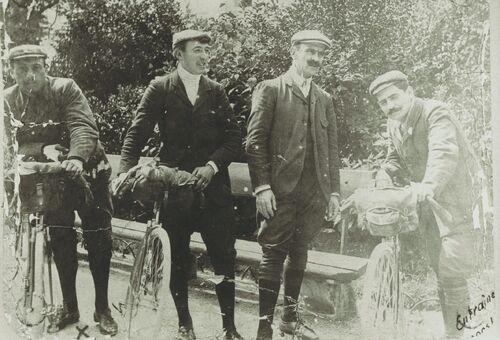 Van Hauwaert Lignon Georges Cadolle Aucouturier Primavera 1908