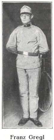 Gregl Franz als soldaat