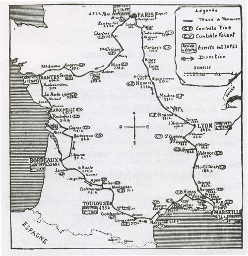 1904 TdF Parcours