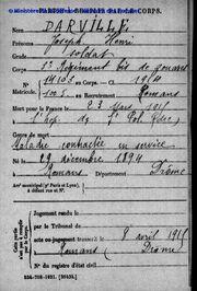 Darville Henri OVL