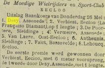 De Stad Eecloo 1910-05-28
