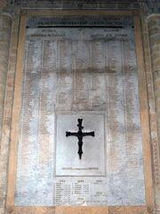Herdenkingsplaat Toulouse - Basiliek Saint-Sernin