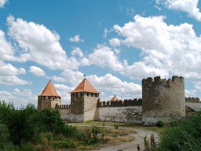 Bender Fortress. Northern side 02