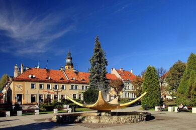 Rynek w Wodzisławiu Śląskim