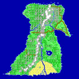 Cythera (island) Map