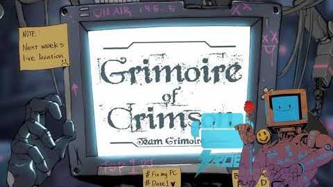 Cytus II ROBO Team Grimoire - Grimoire of Crimson