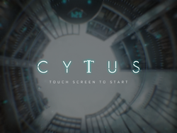 CytusIITitleScreen