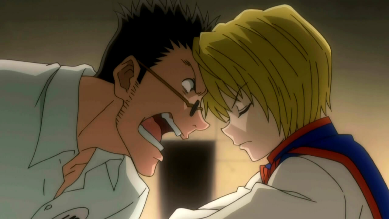 Image result for kurapika and leorio fight