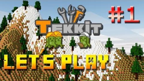 Let's Play - Tekkit česky 1. Díl - Usídlení Minecraft 2. Série
