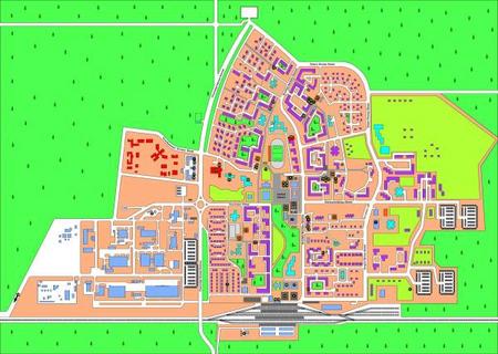 Mapa Slawutycza