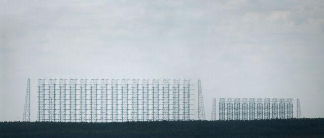 Plik:DUGA-2 Radar Pozahoryzontalny widziany z Prypeci (odl. ok. 10 km).jpg
