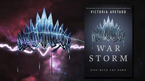 War Storm by Victoria Aveyard - Official Book Teaser Trailer - Red Queen Series
