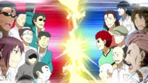 Kazama Party Allies against Band of 14 devils