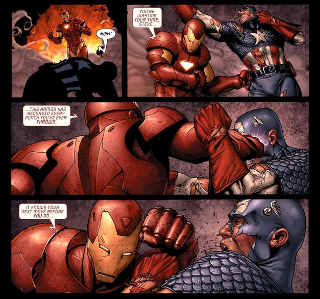 Captain America Iron Man Civil War Every Punch