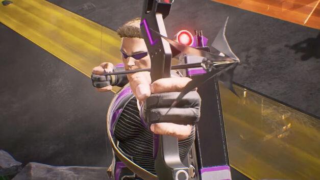 Hawkeye – Marvel vs Capcom Infinite Roster