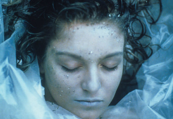 Laura Palmer wrapped in plastic twin peaks
