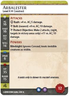Arbalester card
