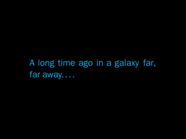 a long time ago star wars font